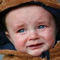 Crying Baby in Hood